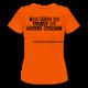 T- Shirt Golden Orange Women's