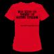 T- Shirt Red Women's